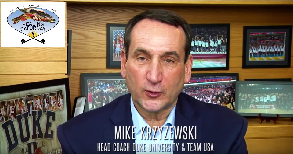 Coach K invites you to join us for Healing Saturday on November 12, 2016 (VIDEO)