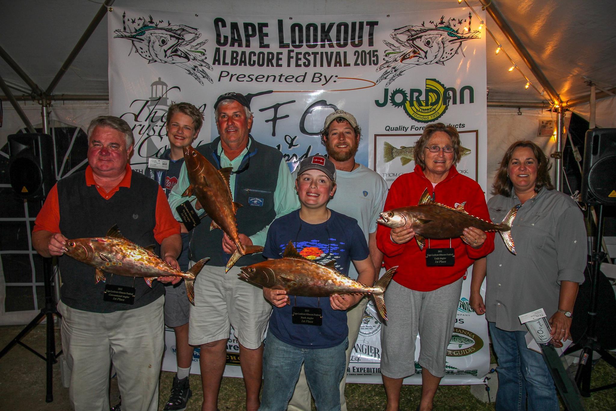 The 2016 Cape Lookout Albacore Festival Announced!