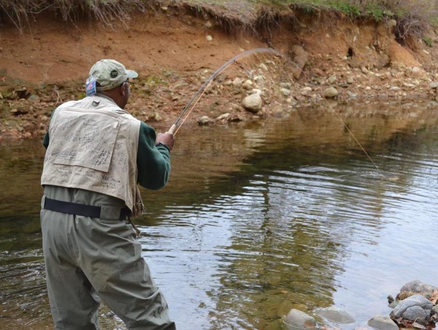 Reel recovery and project healing waters to host joint for Healing waters fly fishing