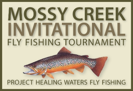 The mossy creek invitational project healing waters fly for Mossy creek fly fishing