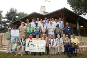 Participants and Volunteers in Waring, TX