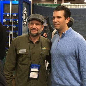 CEO Todd Desgrosseilliers and Donald Trump Jr