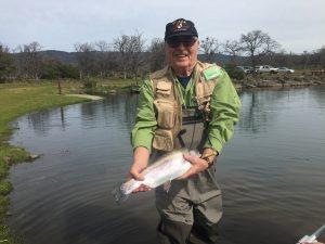 Luke Bachan's fish caught in upper pond