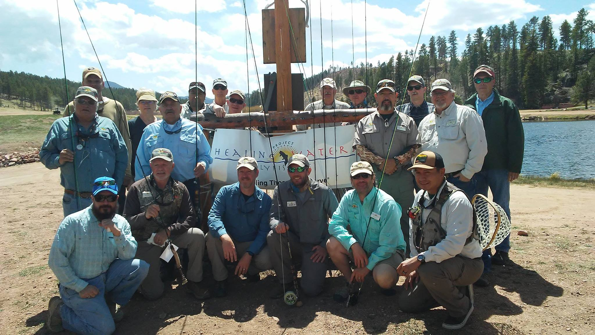 2017 PHWFF-Colorado Springs Rod Builders at Rainbow Falls Mountain Trout