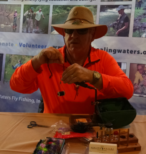 The 1st Annual George Davis Blindfolded Fly Tying Challenge & Fundraiser
