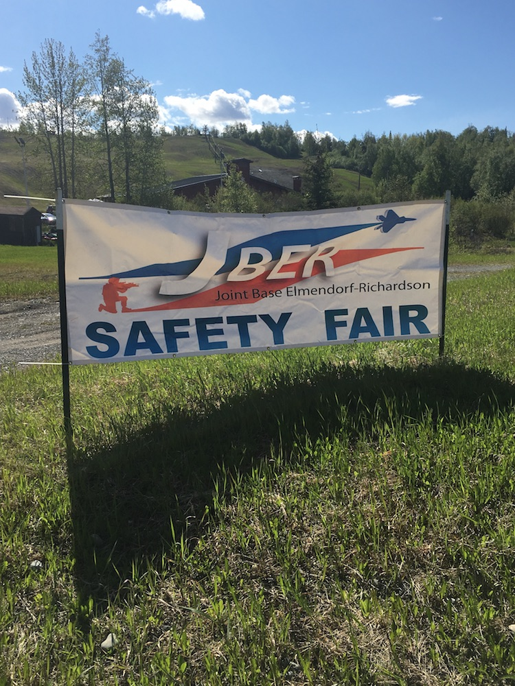 Project Healing Waters Anchorage helps to staff JBER Safety Fair on May 25th
