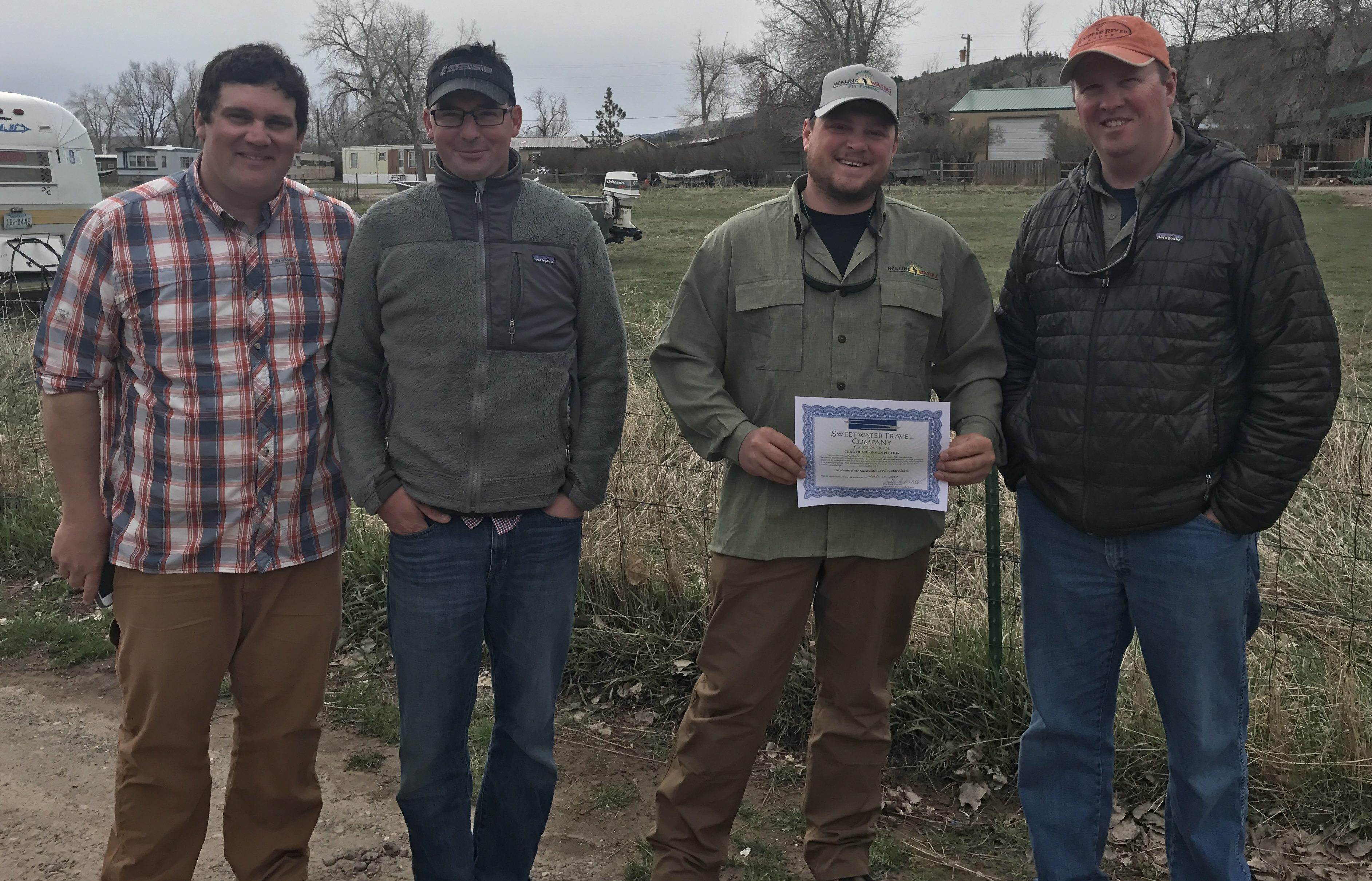 PHWFF participant from Casper, WY graduates from Sweetwater Guide School