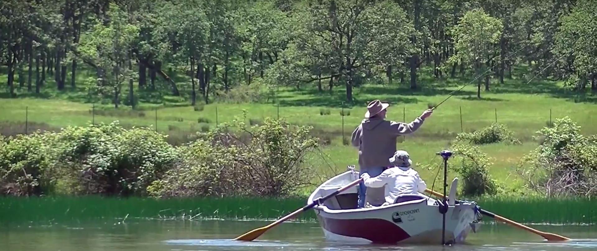 Bass Fishing with the PHWFF Umpqua, Oregon Program (VIDEO)