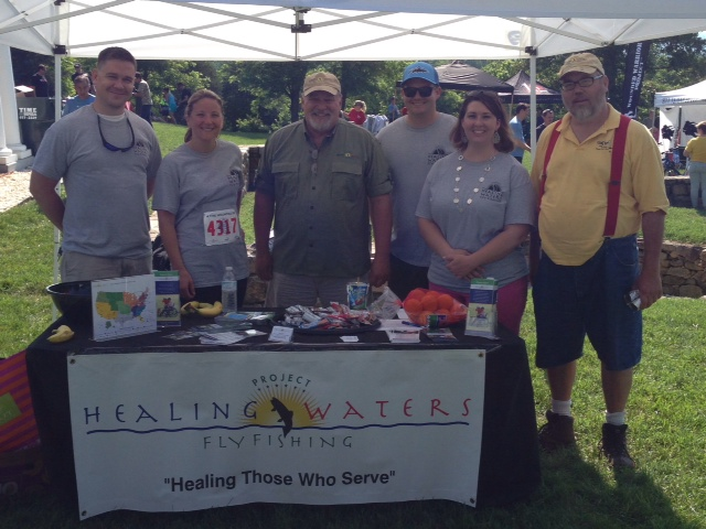 PHWFF volunteers, participants, staff, and family at the 2015 race