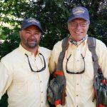 Steve Gillette and CPT (sep) Ben Miller, U.S. Army