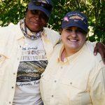 SSG (ret) Angela Harrison, U.S. Army and Elizabeth Trenary