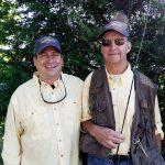 Brian Koerner and  Cpl (sep.) Jim Wolfe, USMC