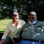 Cory Sodicoff and SGT (ret.) Dan Moneymaker, US Army