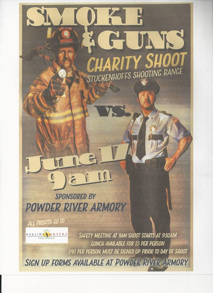Smoke & Guns Shooting Event Fundraiser