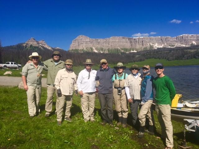 Group at Brooks Lake