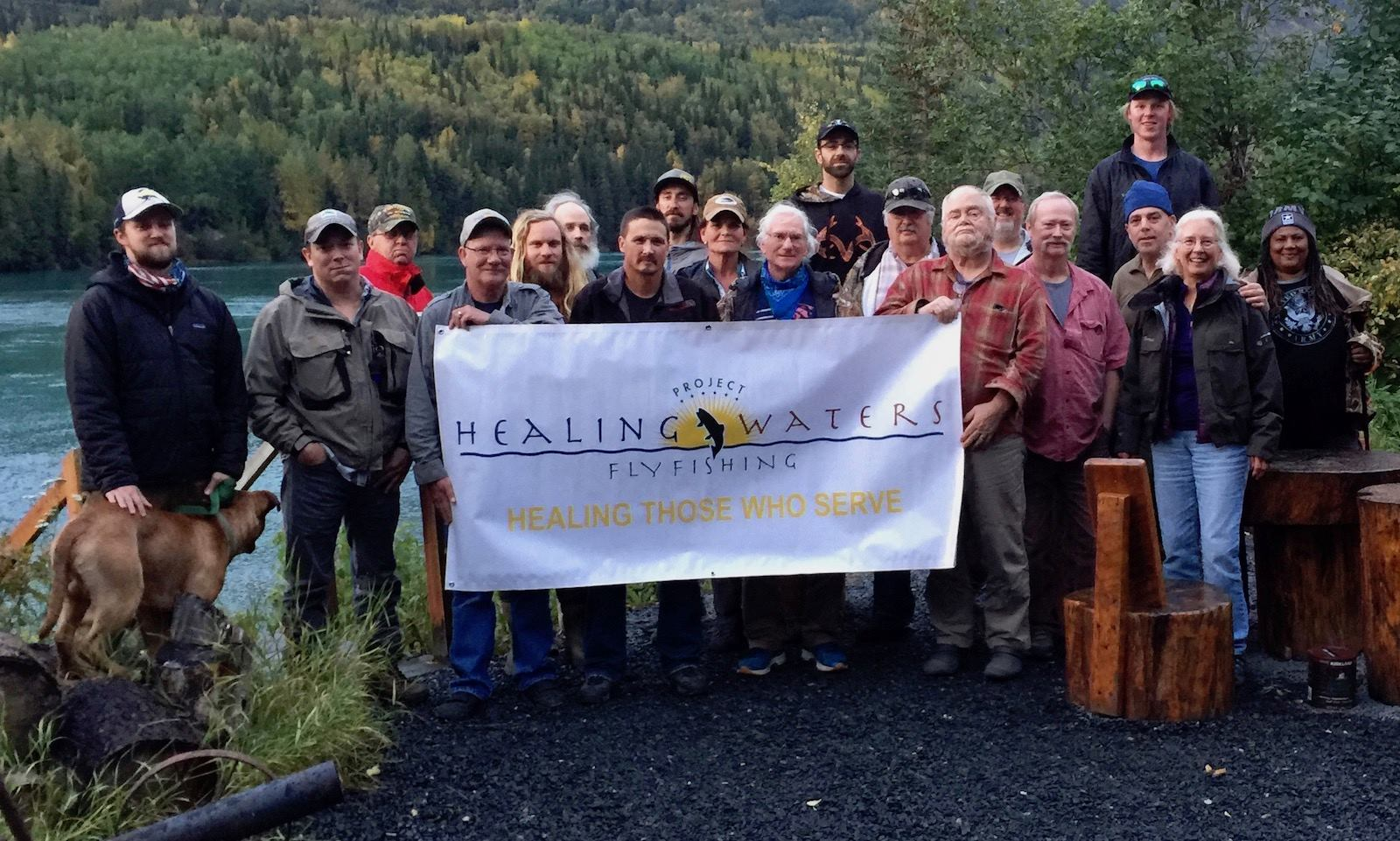 Veterans Enjoy Incredible Fall Fishing on the Kenai River