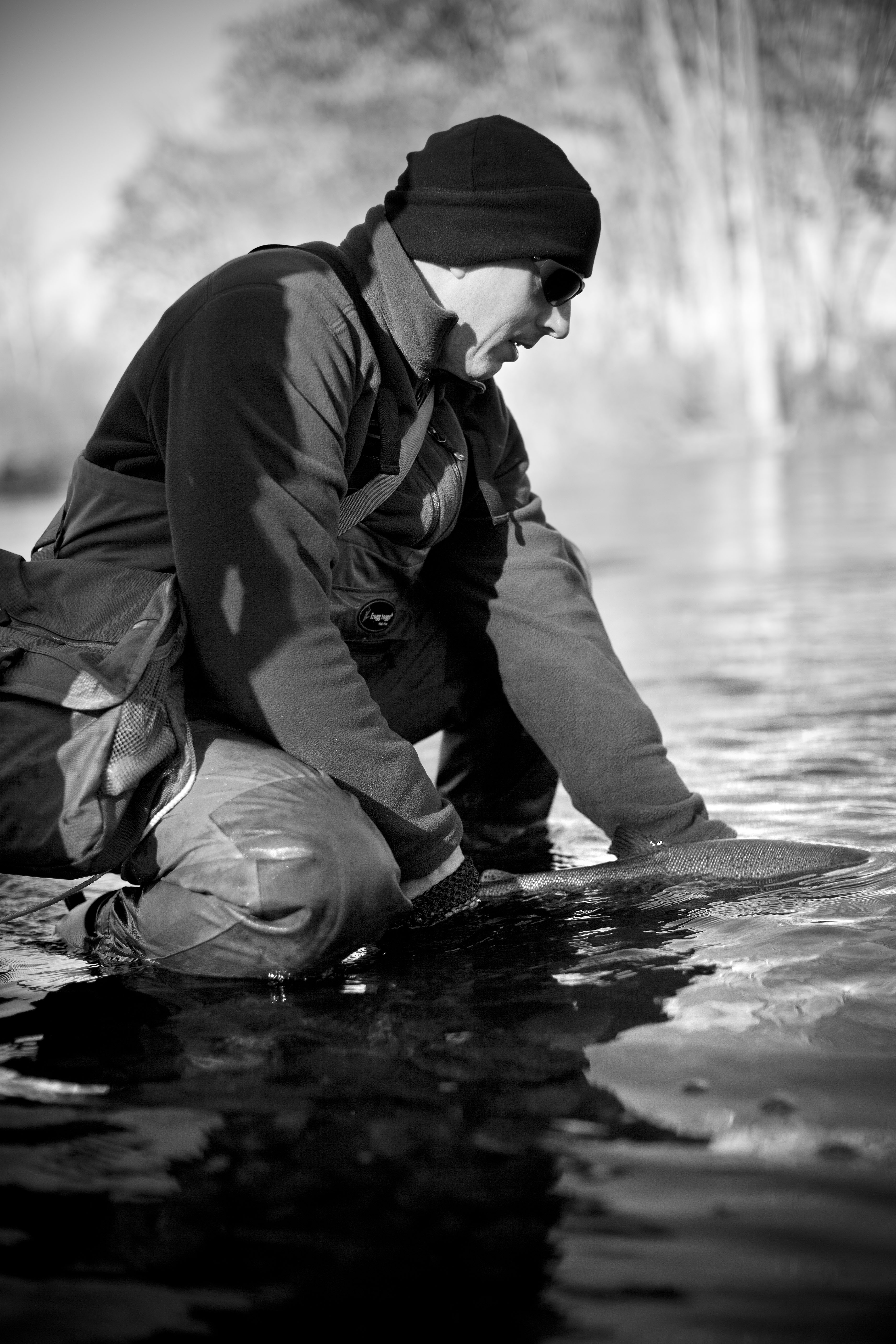 """""""Catch and Release"""" – A Poem by Branden Wells, USMC (ret)"""