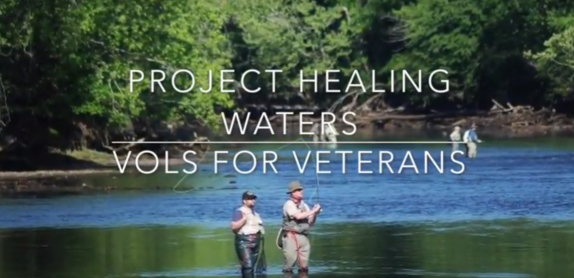 Vols for Veterans support Project Healing Waters Fly Fishing