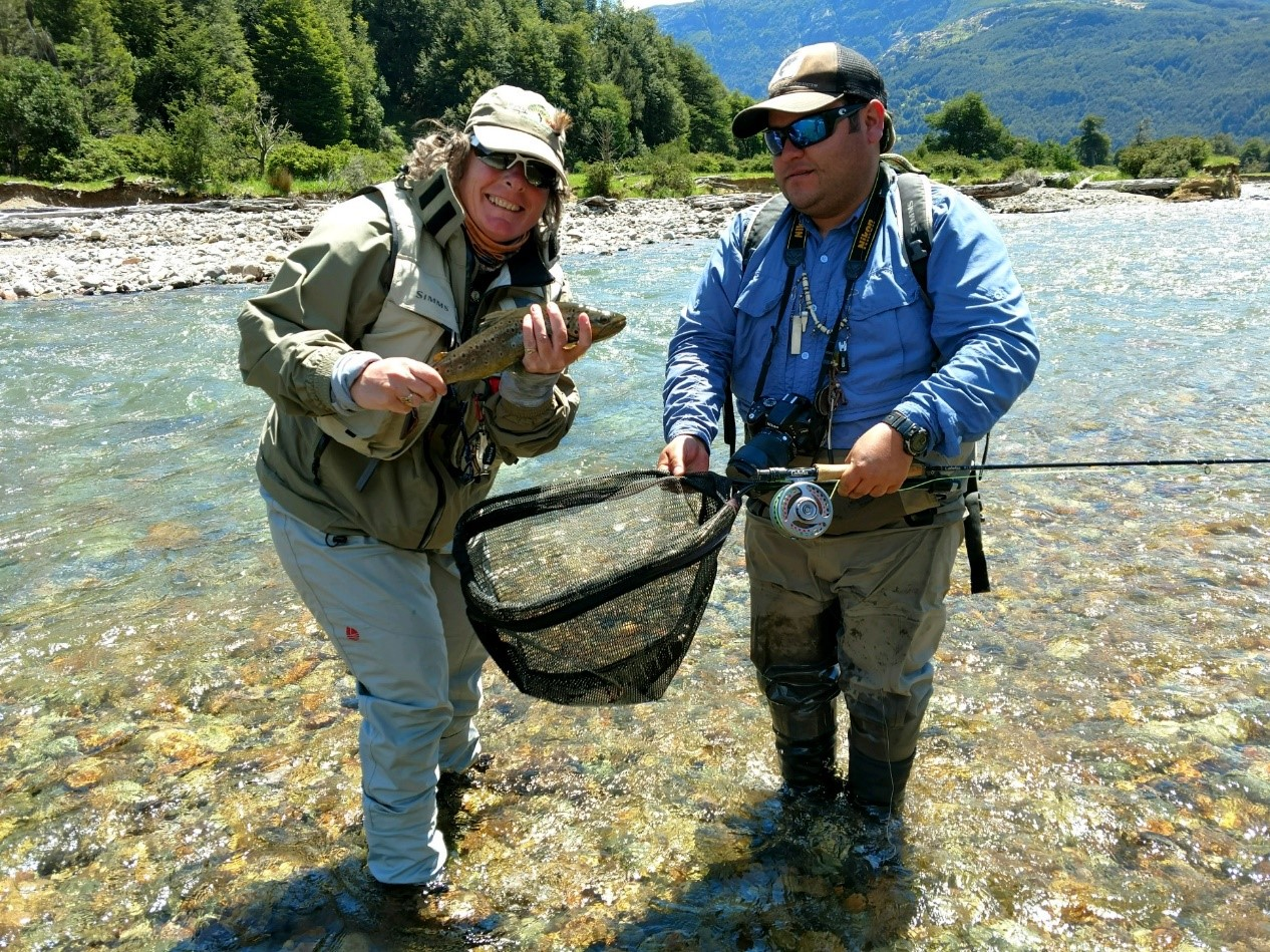 Two veterans experience the trip of a lifetime to Magic Waters Patagonia