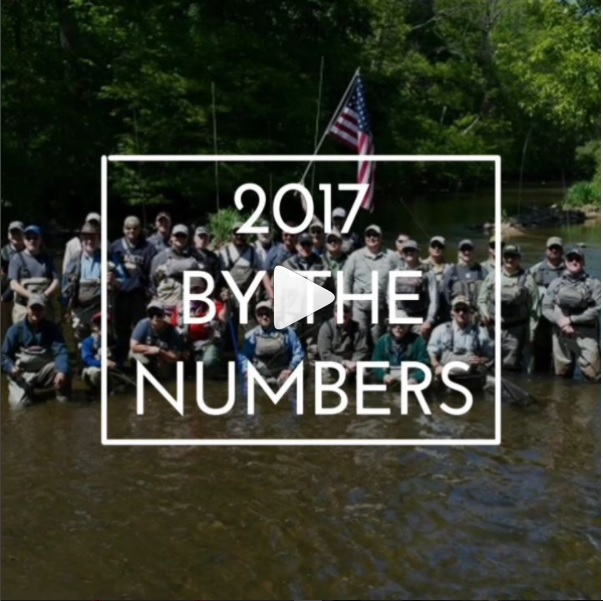 Project Healing Waters Fly Fishing by the numbers (2017)