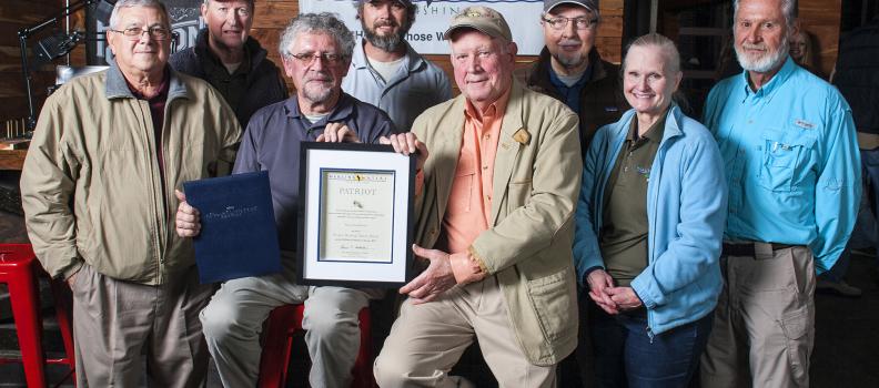 Ken Swinburne Recognized with the PHWFF Patriot Award