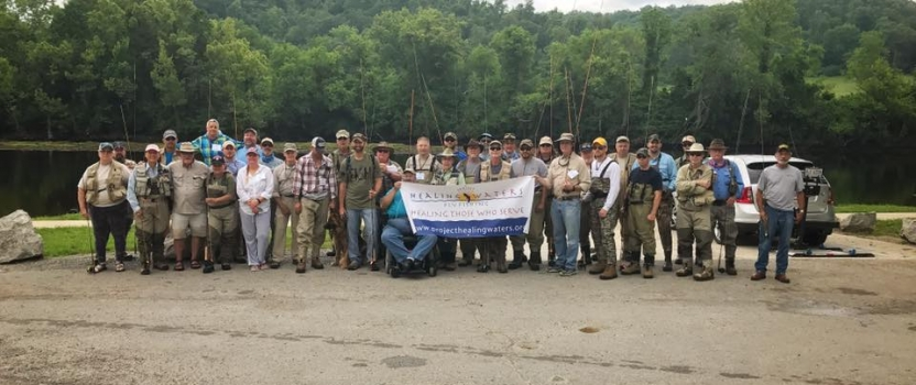 The Clinch River hosts veterans from PHWFF Knoxville & the Wounded Warrior Project