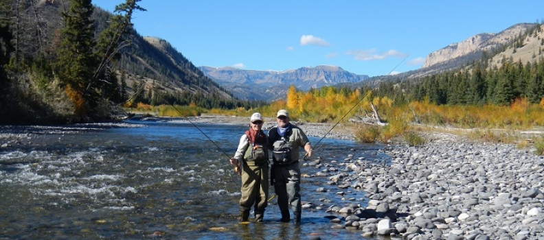 For these veterans, fly fishing trips can be a big part of recovery