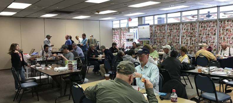 """""""Tie One On"""" tie-athon in support of Project Healing Waters held at the Fly Fishing Museum of the Southern Appalachians"""
