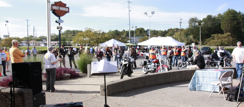 Support the Recovery of Disabled Veterans by attending the Motorcycle ride at Bumpus Harley Davidson on September 15th