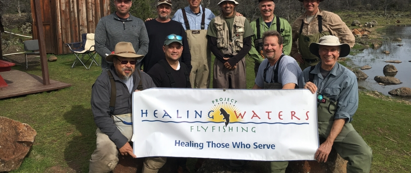 Project Healing Waters Martinez – Trip to Eagle Canyon Lakes