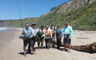 Veterans from the Sepulveda, CA program hit the surf!