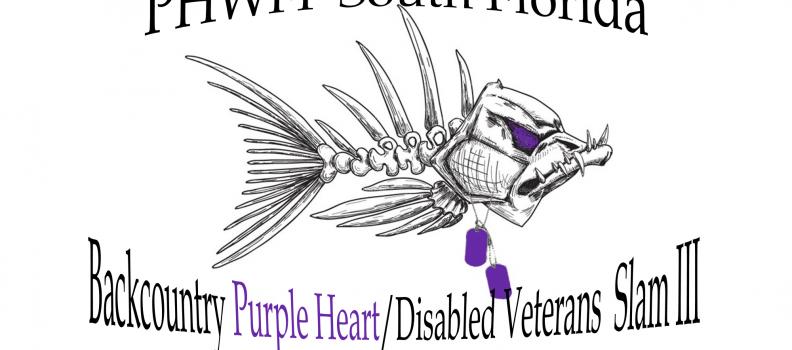 South Florida Backcountry Purple Heart/Disabled Veterans Slam set for August 21 – 23, 2018