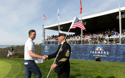 Join us at the Patriots' Outpost during The Farmers Insurance Open