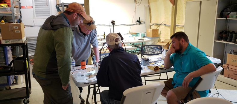 Two PHWFF Texas programs join forces to experience the joy of fly rod building