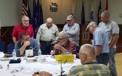 Special guest shares tips and techniques with Oswego, NY program veterans