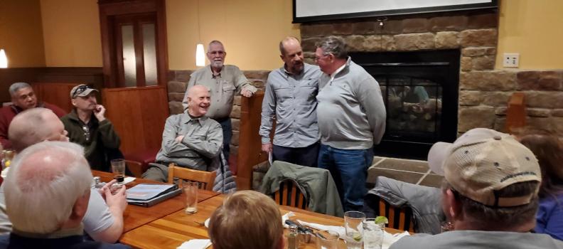 Volunteer Dick Barnett Recognized for Exceptional Leadership