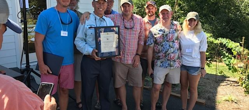 Mossy Creek Fly Fishing receives The Patriot Award for their extraordinary service