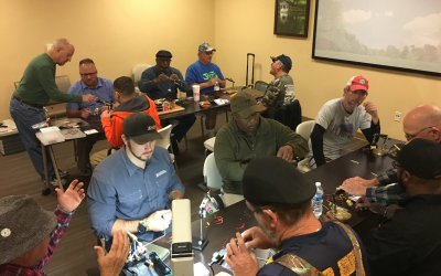 Freestyle Fly Tying Class at the Charlotte, NC VA Healthcare Center