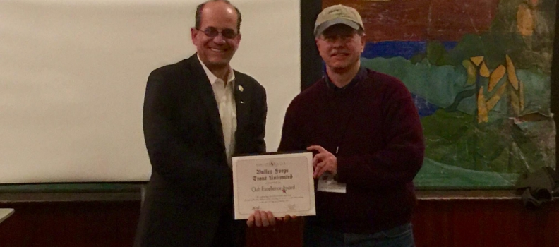 Valley Forge Trout Unlimited recognized with Chapter Excellence Award