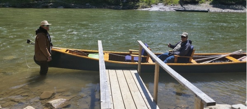 Disabled Veterans Experience the Picturesque Upsalquitch River