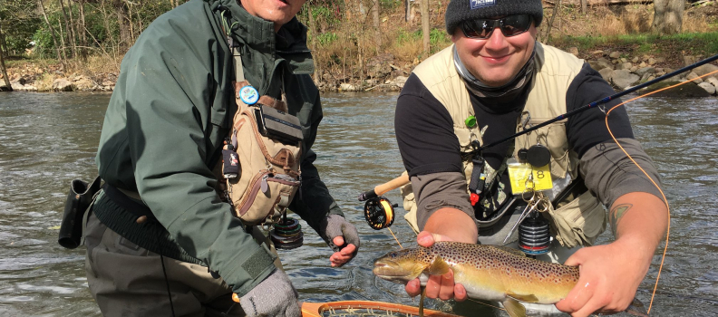 Pittsburgh PHWFF Program holds Outing at Yellow Creek in Bedford County