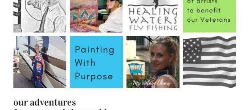 Painting With Purpose – A Gathering of Artists For Our Veterans on January 19, 2019