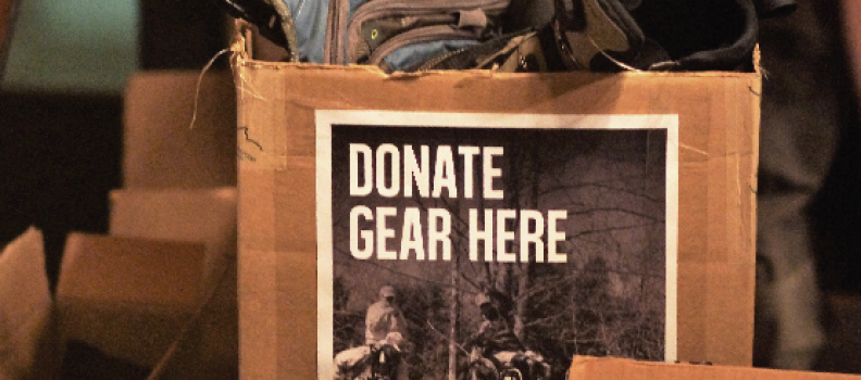 Winged Reel and Pig Farm Ink Gear Drive benefits the veterans we serve