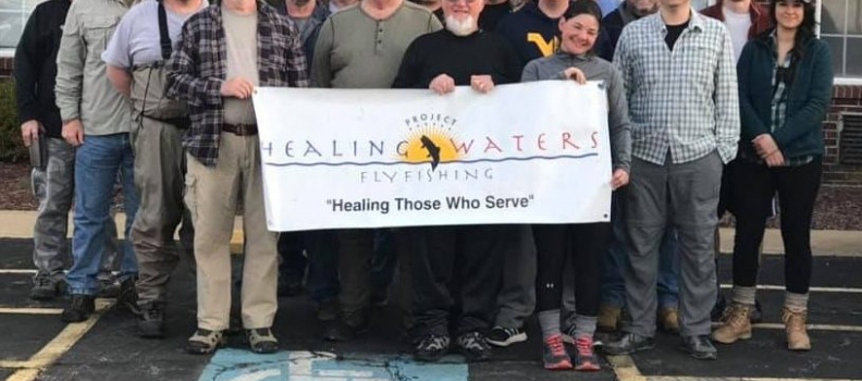 Project Healing Waters Fly Fishing – Clarksburg, WV Gathers for Steelhead Trip in Ohio