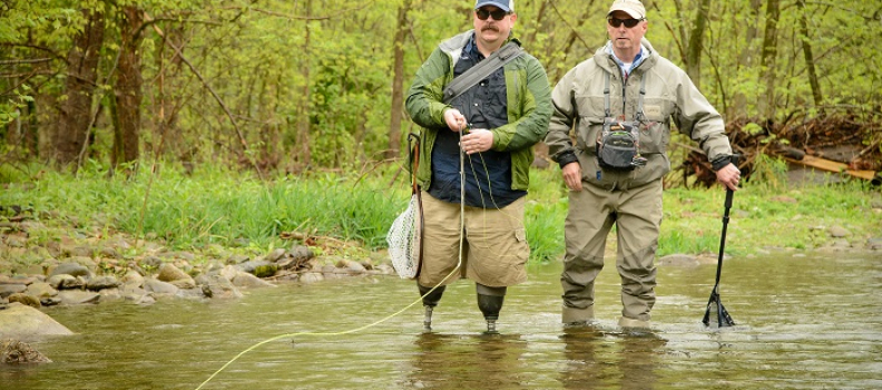 Department of Veterans Affairs Awards Adaptive Sports Grant to Project Healing Waters Fly Fishing