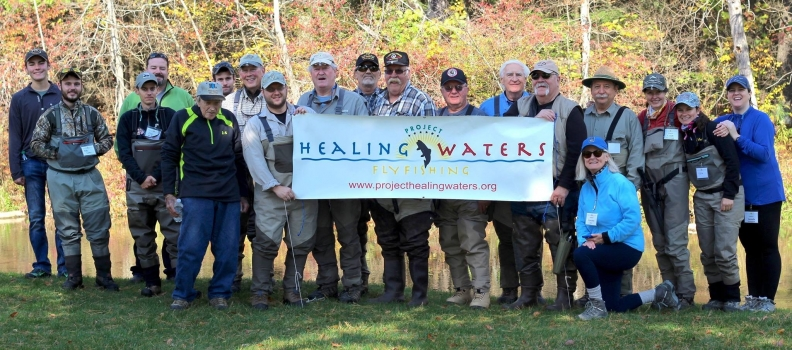 Pittsburgh Healing Waters holds Outing at Yellow Creek in Bedford County