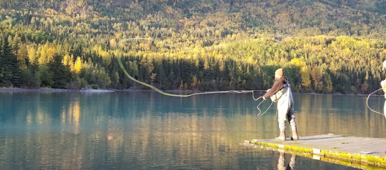 Fall Fishing on Kenai River Produces Trout & Silvers