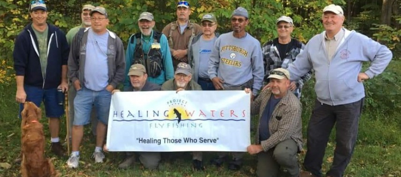 Disabled Veterans Enjoy an Outing to Bedford County, PA