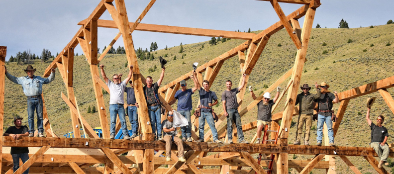PHWFF will be featured on TWO upcoming episodes of Barnwood Builders!