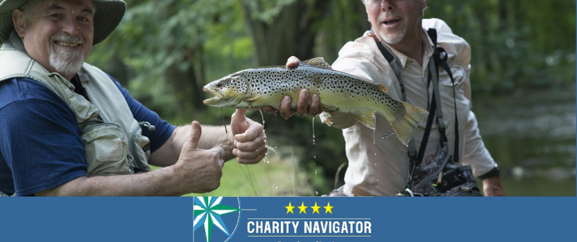 PROJECT HEALING WATERS FLY FISHING EARNS COVETED 4-STAR RATING FROM CHARITY NAVIGATOR